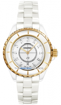 Chanel J12 Quartz 38mm Ladies watch, model number - h2180, discount price of £6,900.00 from The Watch Source