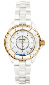 Chanel J12 Quartz 33mm Ladies watch, model number - h2181, discount price of £4,990.00 from The Watch Source