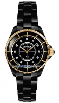Chanel J12 Quartz 33mm Ladies watch, model number - h2543, discount price of £5,280.00 from The Watch Source