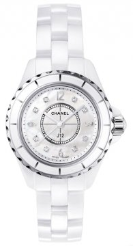 Chanel J12 Quartz 29mm Ladies watch, model number - h2570, discount price of £3,894.00 from The Watch Source