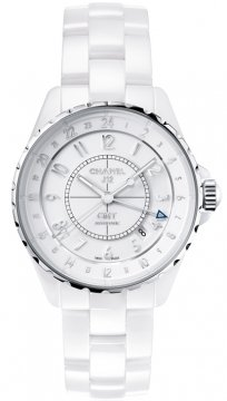 Chanel J12 GMT 38mm Ladies watch, model number - H3103, discount price of £3,960.00 from The Watch Source