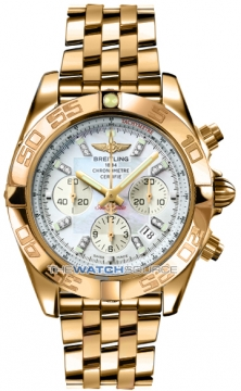 Breitling Chronomat 44 Mens watch, model number - HB011012/a698-rg, discount price of £37,780.00 from The Watch Source