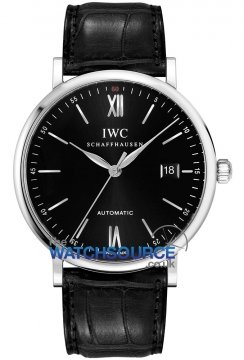 IWC Portofino Automatic 40mm Mens watch, model number - IW356502, discount price of £2,760.00 from The Watch Source