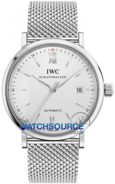 IWC Portofino Automatic 40mm Mens watch, model number - IW356505, discount price of £3,400.00 from The Watch Source