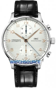 Buy this new IWC Portuguese Automatic Chronograph IW371445 mens watch for the discount price of £5,567.00. UK Retailer.