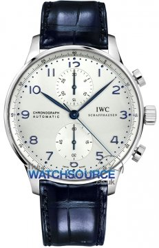 IWC Portuguese Automatic Chronograph Mens watch, model number - IW371446, discount price of £5,312.00 from The Watch Source