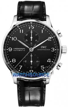 IWC Portuguese Automatic Chronograph Mens watch, model number - IW371447, discount price of £5,015.00 from The Watch Source