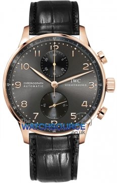 Buy this new IWC Portuguese Automatic Chronograph IW371482 mens watch for the discount price of £11,857.00. UK Retailer.