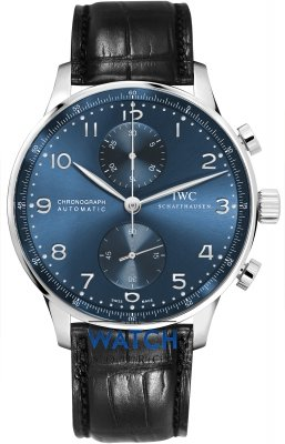 Buy this new IWC Portuguese Automatic Chronograph iw371491 mens watch for the discount price of £5,567.00. UK Retailer.