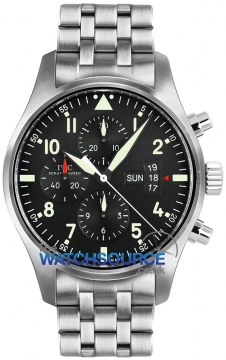 IWC Pilot's Watch Chronograph Mens watch, model number - IW377704, discount price of £4,675.00 from The Watch Source