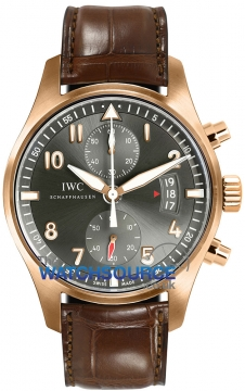 IWC Pilot's Watch Spitfire Chronograph Mens watch, model number - IW387803, discount price of £18,230.00 from The Watch Source