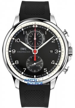 IWC Portuguese Yacht Club Chronograph 45.4mm Mens watch, model number - IW390210, discount price of £8,030.00 from The Watch Source