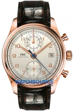 IWC Portuguese Chronograph Classic Mens watch, model number - IW390402, discount price of £15,937.00 from The Watch Source