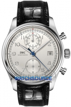 IWC Portuguese Chronograph Classic Mens watch, model number - IW390403, discount price of £8,280.00 from The Watch Source