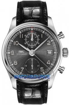 IWC Portuguese Chronograph Classic Mens watch, model number - IW390404, discount price of £8,280.00 from The Watch Source