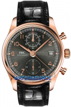 IWC Portugieser Chronograph Classic 42mm Mens watch, model number - IW390405, discount price of £15,930.00 from The Watch Source