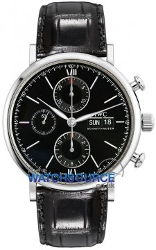 IWC Portofino Chronograph Mens watch, model number - IW391008, discount price of £3,865.00 from The Watch Source