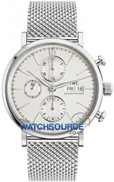 IWC Portofino Chronograph Mens watch, model number - IW391009, discount price of £4,250.00 from The Watch Source