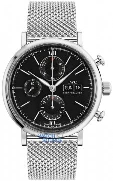 IWC Portofino Chronograph Mens watch, model number - IW391010, discount price of £4,505.00 from The Watch Source