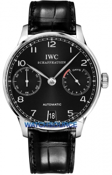 IWC Portuguese Automatic Mens watch, model number - IW500109, discount price of £7,860.00 from The Watch Source