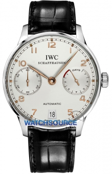 IWC Portuguese Automatic Mens watch, model number - IW500114, discount price of £7,860.00 from The Watch Source