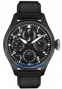 IWC Big Pilot's Watch Perpetual Calendar TOP GUN Mens watch, model number - IW502902, discount price of £24,225.00 from The Watch Source