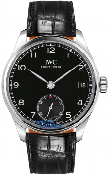 IWC Portuguese Hand Wound Eight Days Mens watch, model number - IW510202, discount price of £6,715.00 from The Watch Source