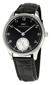 IWC Portuguese Hand Wound Mens watch, model number - IW545404, discount price of £5,312.00 from The Watch Source