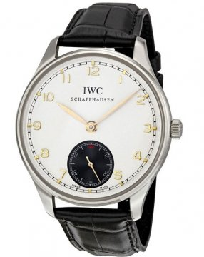 IWC Portuguese Hand Wound Mens watch, model number - IW545405, discount price of £5,312.00 from The Watch Source