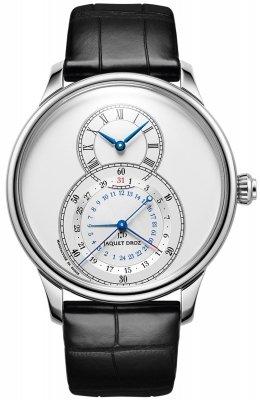 Jaquet Droz Grande Seconde Dual Time 43mm j016030240 watch