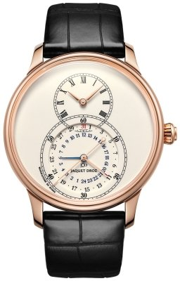 Jaquet Droz Grande Seconde Dual Time 43mm j016033200 watch