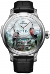 Jaquet Droz Les Ateliers d'Art Automata THE BIRD REPEATER J031034205 ALPINE VIEW watch