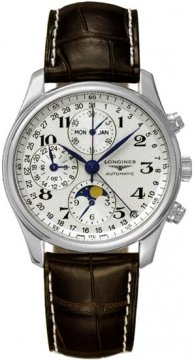 Longines Master Complications Mens watch, model number - L2.673.4.78.3, discount price of £1,718.00 from The Watch Source