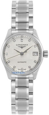 Longines Master Automatic 25.5mm Ladies watch, model number - L2.128.4.77.6, discount price of £1,292.00 from The Watch Source