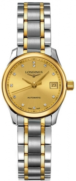 Longines Master Automatic 25.5mm Ladies watch, model number - L2.128.5.37.7, discount price of £1,465.00 from The Watch Source