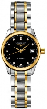 Longines Master Automatic 25.5mm Ladies watch, model number - L2.128.5.57.7, discount price of £1,496.00 from The Watch Source