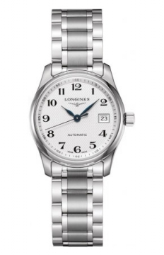 Longines Master Automatic 29mm Ladies watch, model number - L2.257.4.78.6, discount price of £987.00 from The Watch Source