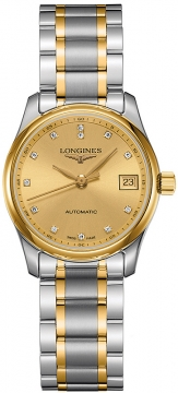 Longines Master Automatic 29mm Ladies watch, model number - L2.257.5.37.7, discount price of £1,550.00 from The Watch Source