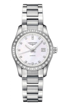 Longines Conquest Classic Automatic 29mm Ladies watch, model number - L2.285.0.87.6, discount price of £2,335.00 from The Watch Source