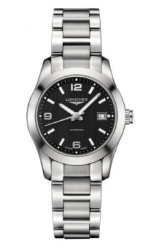 Longines Conquest Classic Automatic 29mm Ladies watch, model number - L2.285.4.56.6, discount price of £1,050.00 from The Watch Source