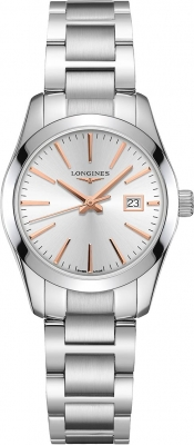 Longines Conquest Classic Quartz 29.5mm L2.286.4.72.6 watch