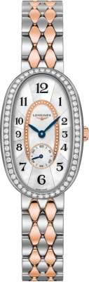 Buy this new Longines Symphonette Medium L2.306.5.88.7 ladies watch for the discount price of £3,021.00. UK Retailer.