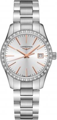 Longines Conquest Classic Quartz 34mm L2.386.0.72.6 watch