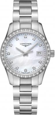 Longines Conquest Classic Quartz 34mm L2.386.0.87.6 watch