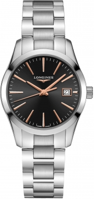 Buy this new Longines Conquest Classic Quartz 34mm L2.386.4.52.6 ladies watch for the discount price of £620.00. UK Retailer.