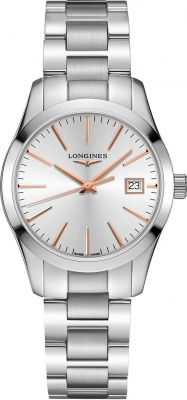 Longines Conquest Classic Quartz 34mm L2.386.4.72.6 watch