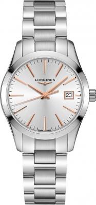 Buy this new Longines Conquest Classic Quartz 34mm L2.386.4.72.6 ladies watch for the discount price of £657.00. UK Retailer.