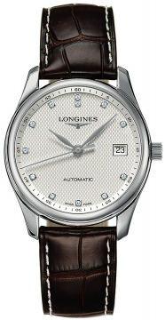 Longines Master Automatic 36mm Midsize watch, model number - L2.518.4.77.3, discount price of £1,428.00 from The Watch Source