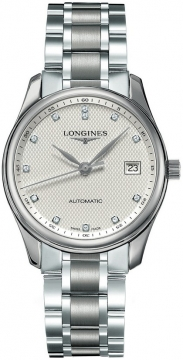 Longines Master Automatic 36mm Midsize watch, model number - L2.518.4.77.6, discount price of £1,428.00 from The Watch Source
