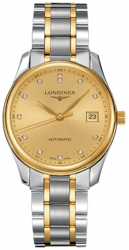 Longines Master Automatic 36mm Midsize watch, model number - L2.518.5.37.7, discount price of £1,645.00 from The Watch Source